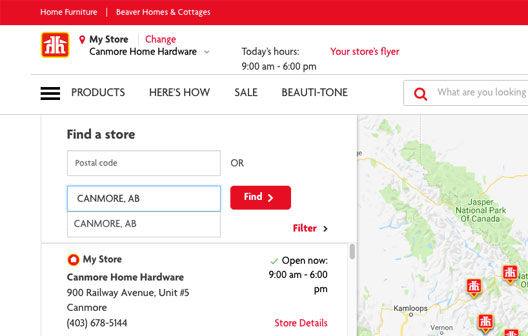 Search Home Hardware.ca