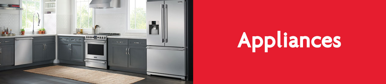 Home and kitchen appliances for your new Canmore home.