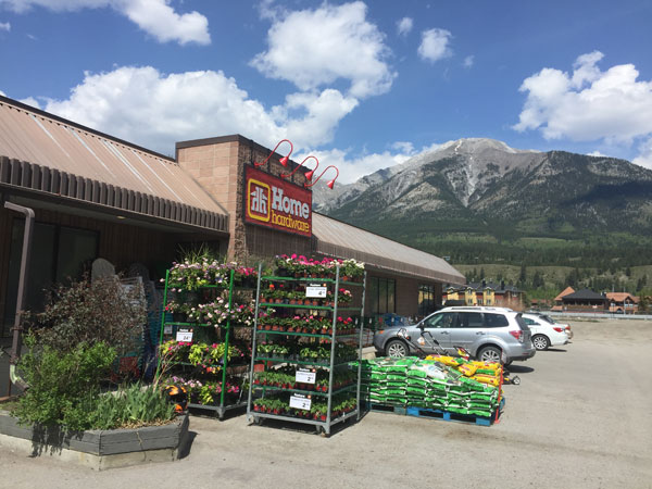 Flowers, annuals, vegetables and live plants for sale at Canmore Home Hardware.