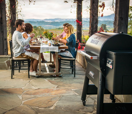 Outdoor living and patio furniture in Canmore.