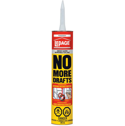 No More Drafts Sealant in Canmore.