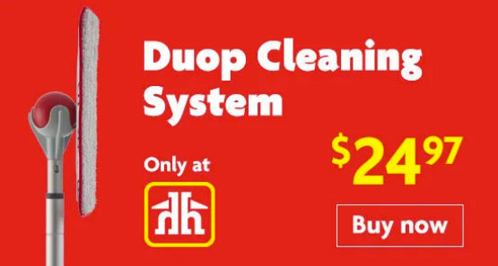 The best mop in Canmore, the Duop cleaning system, Canmore Home Hardware.